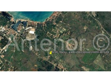 Building land, Sale, Nin, Ninski Stanovi