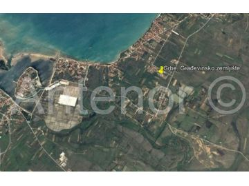 Plot for construction, Sale, Nin, Grbe