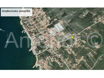 Plot for construction, Sale, Vrsi, Mulo