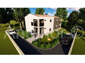 House under construction, Sale, Vrsi, Mulo